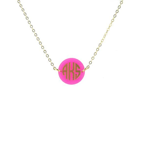 Moon and Lola - Hartford Monogram Necklace