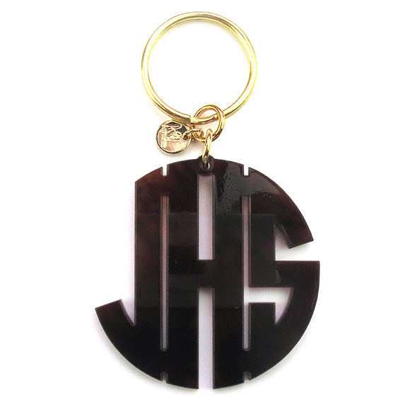 "Sample ""JHS"" Nice Block Keychain"