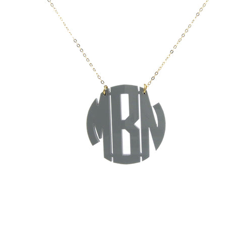 Moon and Lola - Nice Monogram Necklace