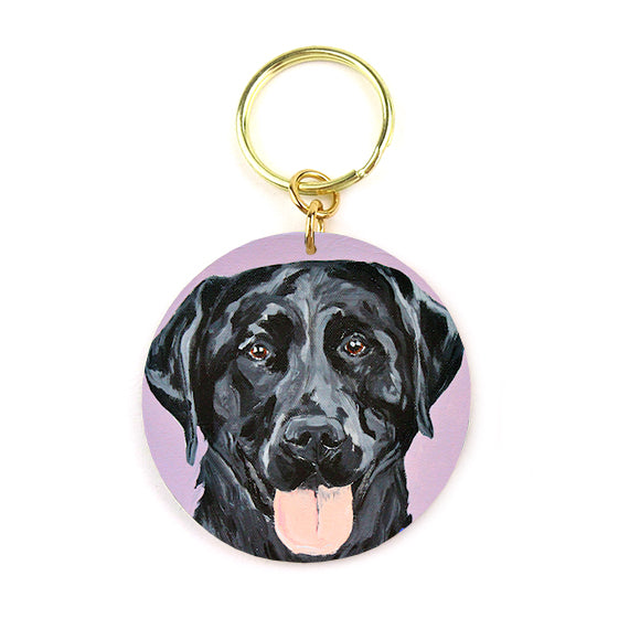 Moon and Lola - Briar the Labrador Keychain
