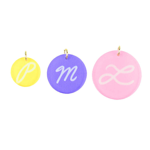 Moon and Lola xx Thimblepress - Single Initial Charms