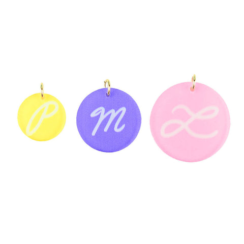 ML xx TP Pink Dog Symbol Charm