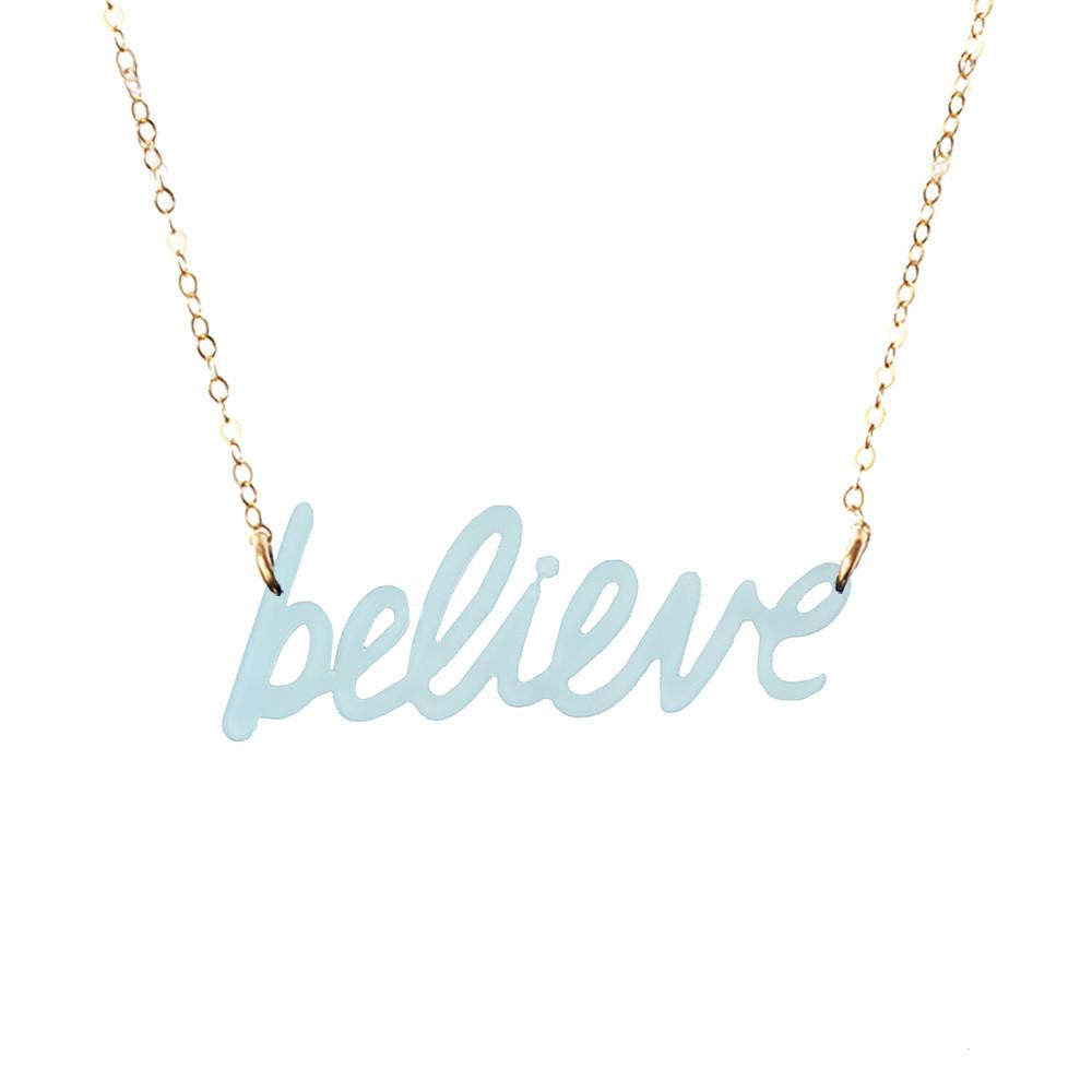 Moon and Lola xx Thimblepress - Word Necklace