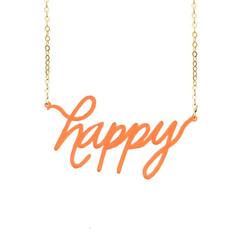 "ML xx TP ""Yes"" Nameplate Necklace"