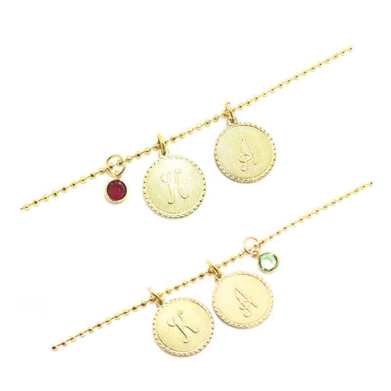 Moon and Lola - Galentine Necklace Pair