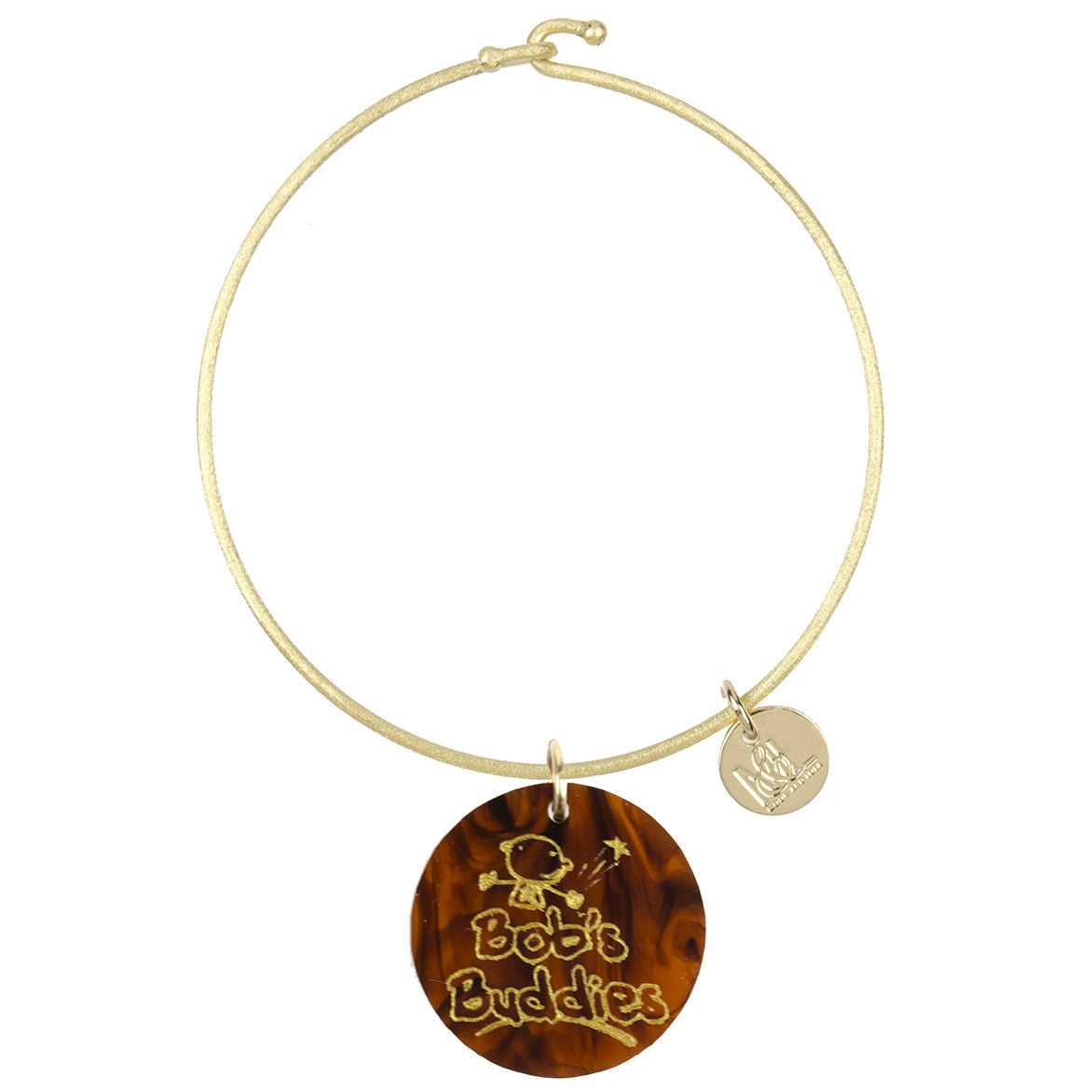 I found this at #moonandlola! - Bob's Buddies Charm Bangle Tortoise
