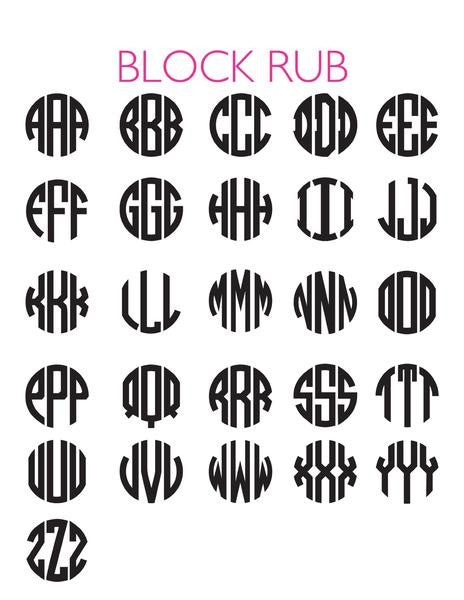 I found this at #moonandlola! - Block Font Sheet