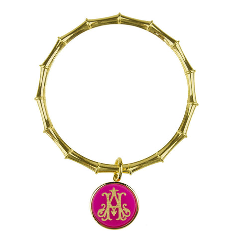 "Sample ""WRM"" Parker Monogram Bangle"