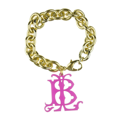 "Sample ""JBM"" Parker Monogram Bangle"
