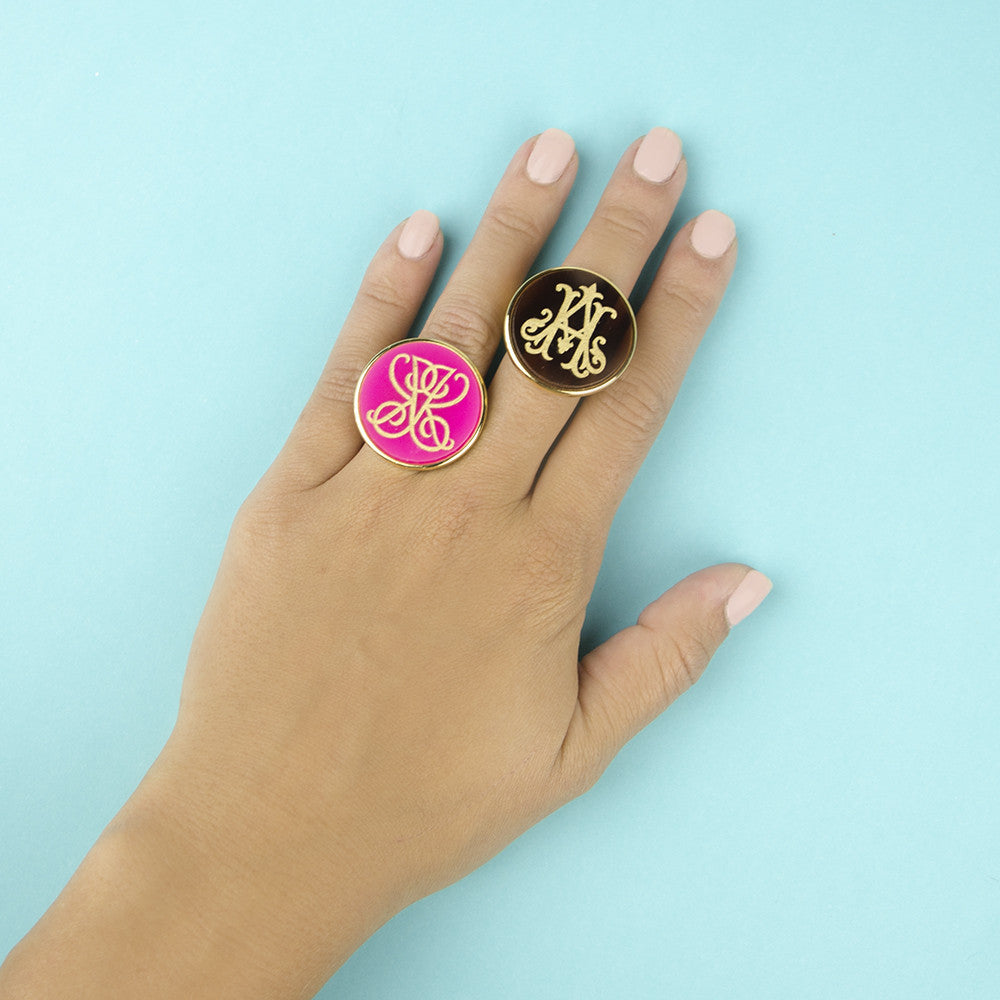 Moon and Lola xx Emily McCarthy Rings Styled