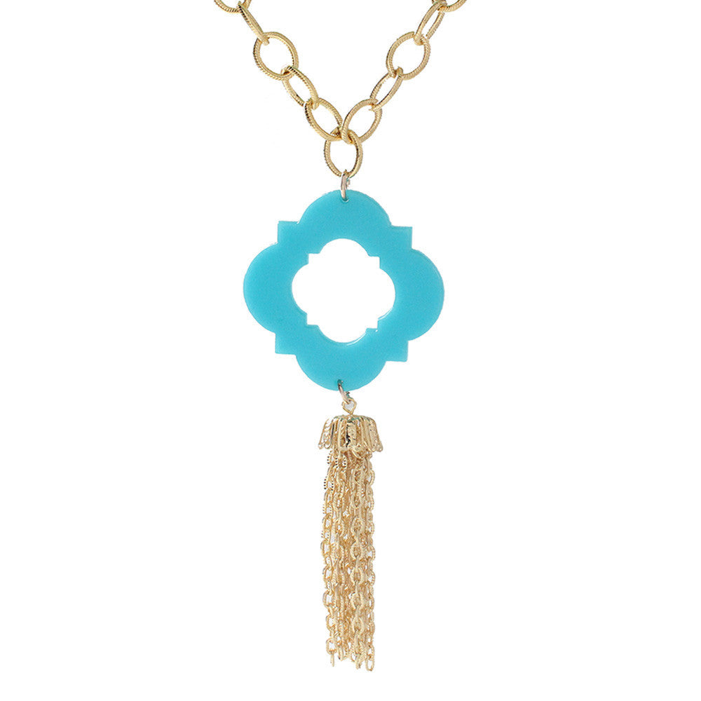 I found this at #moonandlola! - Malta Tassel Necklace
