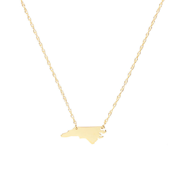 I found this at #moonandlola - Metal Mini State Necklace