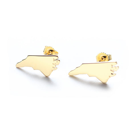 Metal State Cuff Links