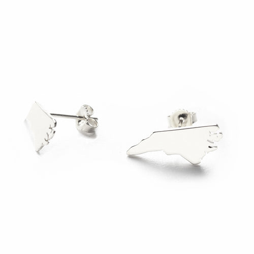 I found this at #moonandlola - Metal State Post Earrings
