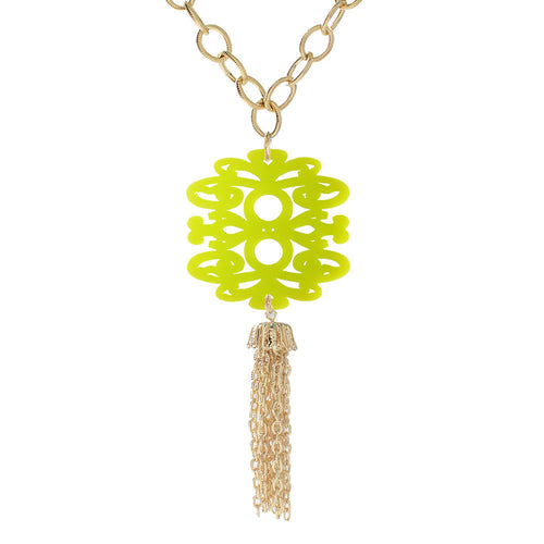 Miller Tassel Necklace