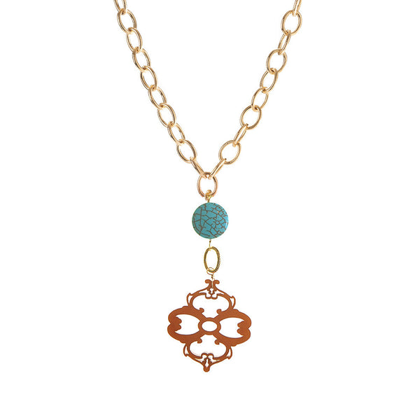 I found this at #moonandlola! - Montgomery Necklace