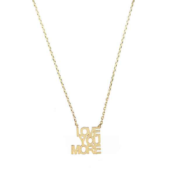 I found this at #moonandlola! - Montpellier Love You More Cutout Necklace