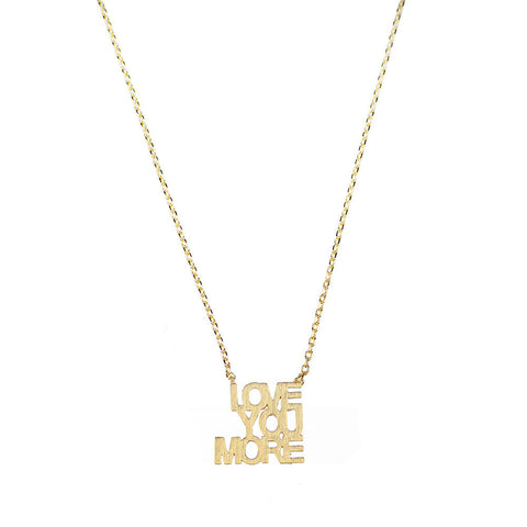 Moon and Lola - Montpellier Love You More Cutout Necklace