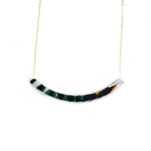 Moon and Lola - Azaza Slide in Colorway 18 on Apex Chain Necklace