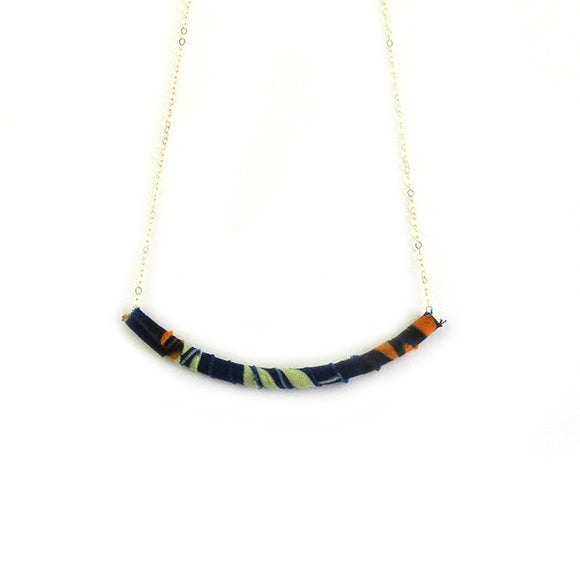 Moon and Lola - Azaza Slide in Colorway 2 on Apex Chain Necklace