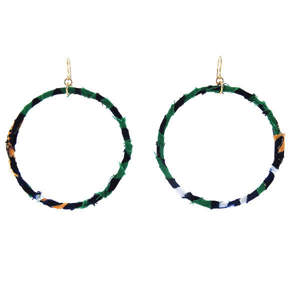 Moon and Lola - Badou Earrings in color way 18