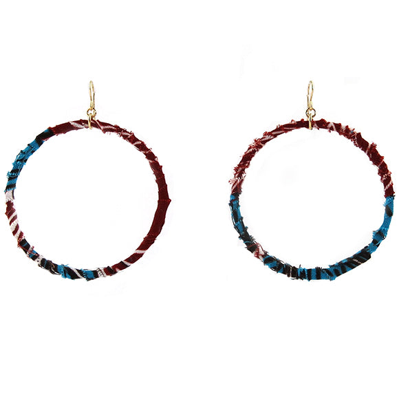 Moon and Lola - Badou Earrings in color way 7