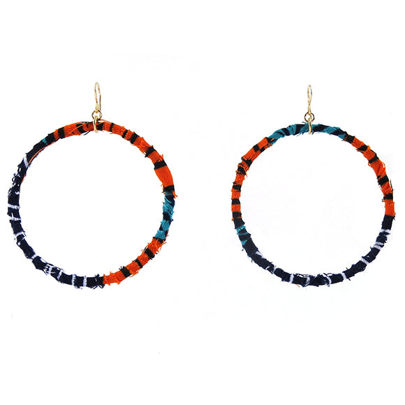 Moon and Lola - Badou Earrings in color way 8