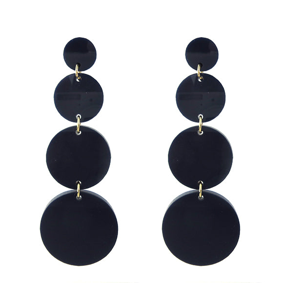 Moon and Lola - Barbados Earrings in Navy