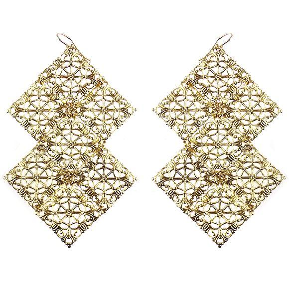 I found this at #moonandlola! - Belfast Filigree Earrings