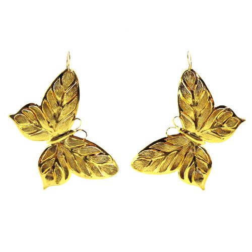 Moon and Lola - Butterfly Earrings in gold
