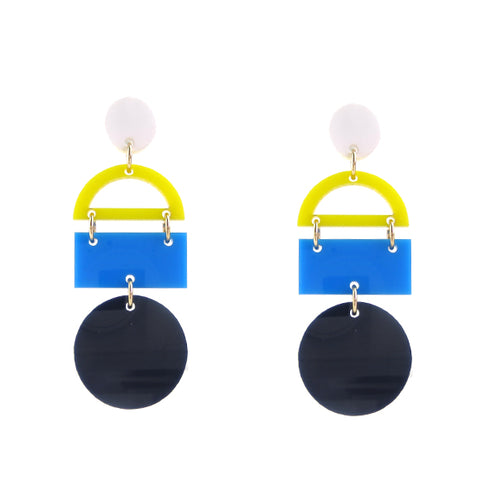ML xx TP Triangle Drop Earrings