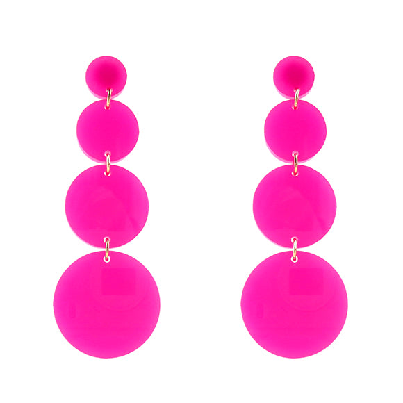 Moon and Lola - Beach Collection Custom Barbados Hot Pink
