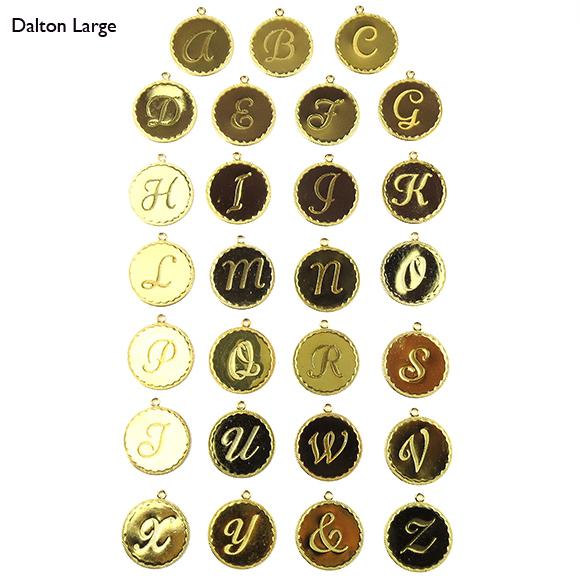 Moon and Lola - Metal Dalton Charm Large Letter Set
