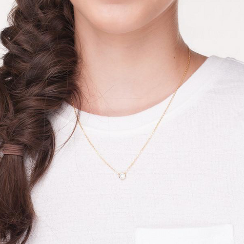 I found this at #moonandlola! - Dove Necklace