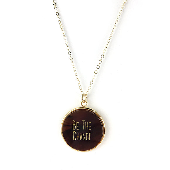 Equality For All Round Necklace