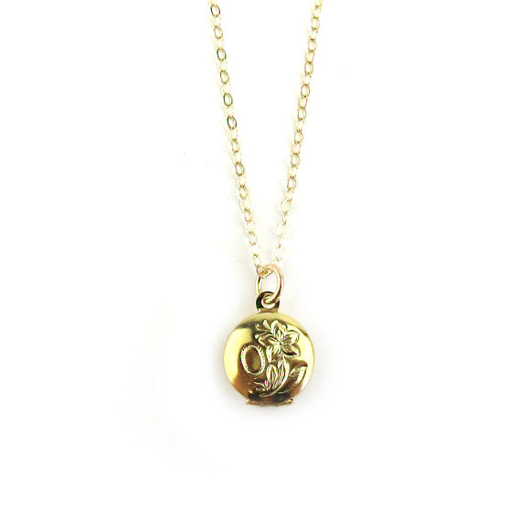 Moon and Lola - Galway Locket Necklace