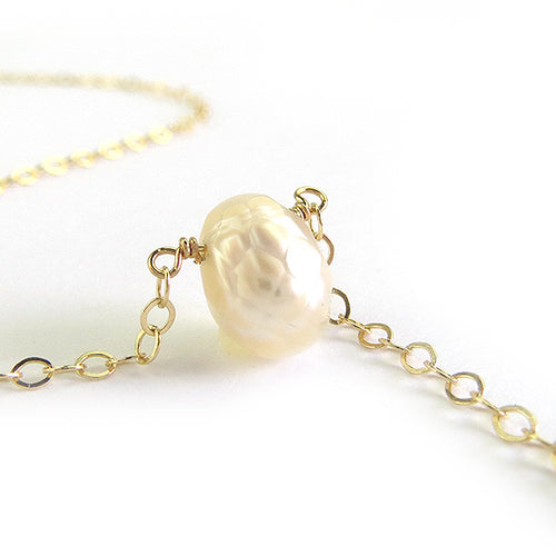 Moon and Lola - Dragon Egg Pearl Necklace