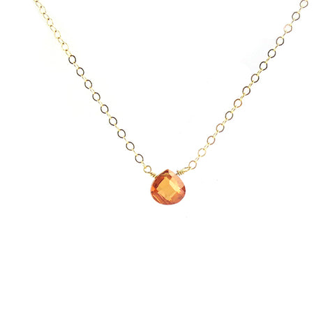 Mini Sunstone Necklace