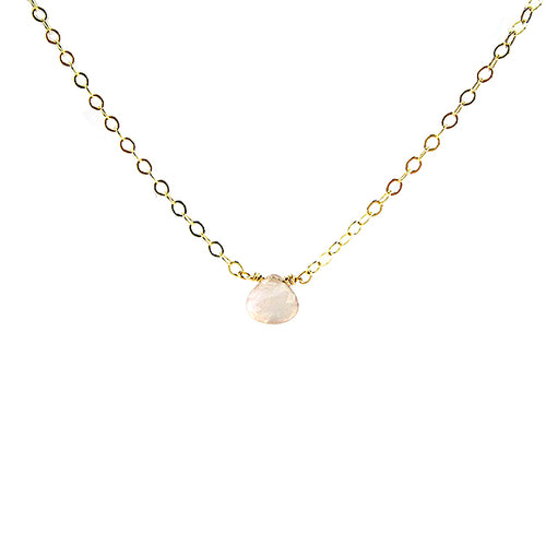 Moon and Lola - Rose Quartz Necklace