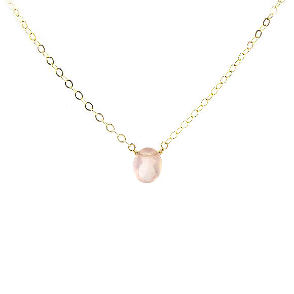 Moon and Lola - Jellybean Chalcedony Necklace