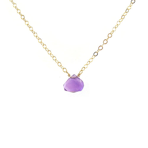 Moon and Lola - Amethyst Necklace