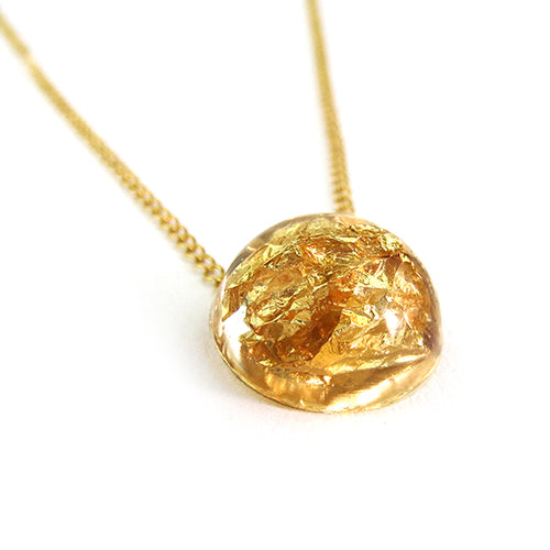 Moon and Lola - Ivalo Gold Leaf Necklace