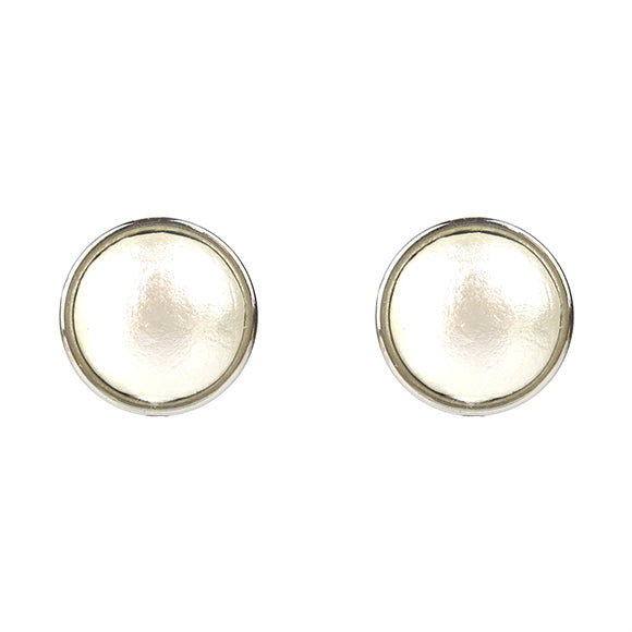 Moon and Lola - Luna Cotton Pearl Studs