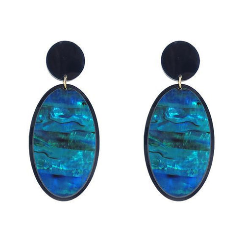 Moon and Lola - Manihi Mother of Pearl Earrings