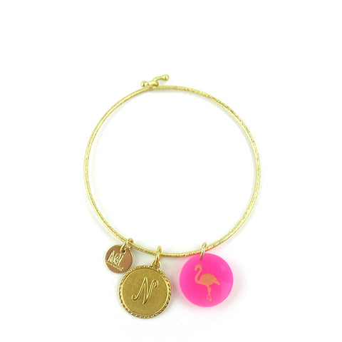 Brass Constellation Bangle