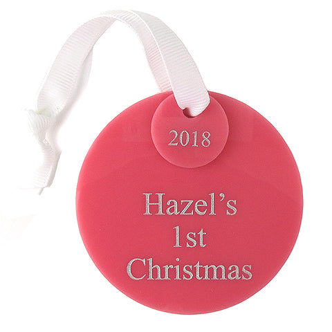 Personalized Parakeet Ornament