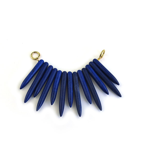 Moon and Lola - Ogaro Necklace Add-On in cobalt