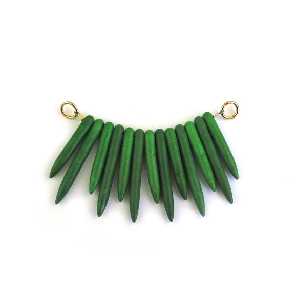 Moon and Lola - Ogaro Necklace Add-On in green