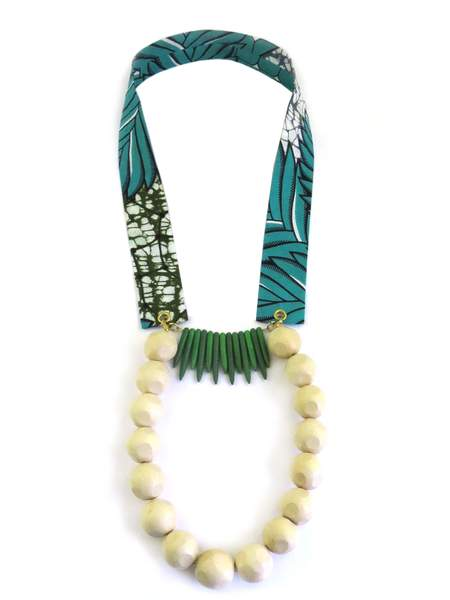 Moon and Lola - Ogaro Necklace with Add-On in green