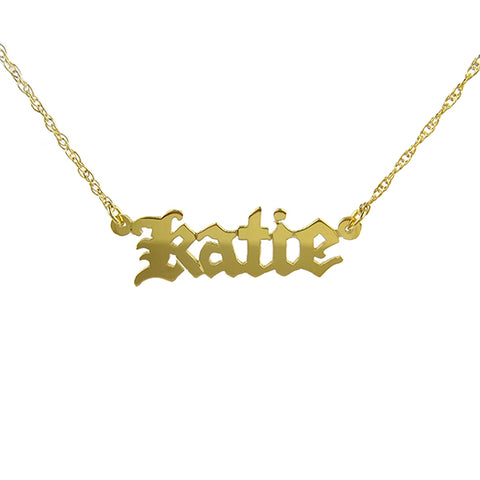 Metal Dalton Necklace